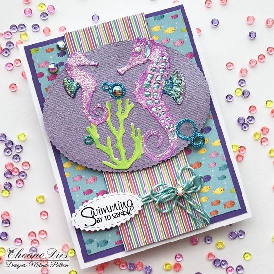 Seahorse Card Melinda