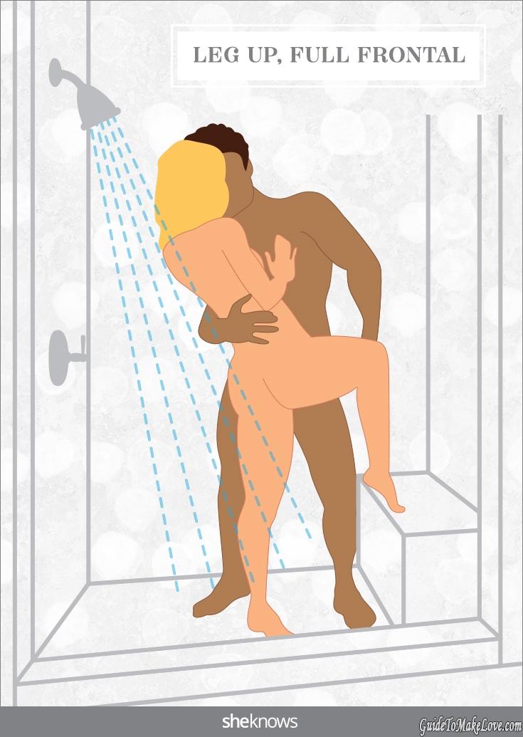 Sex positions shower