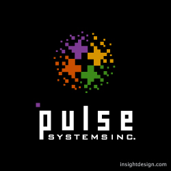 Pulse Systems logo design Wichita, KS