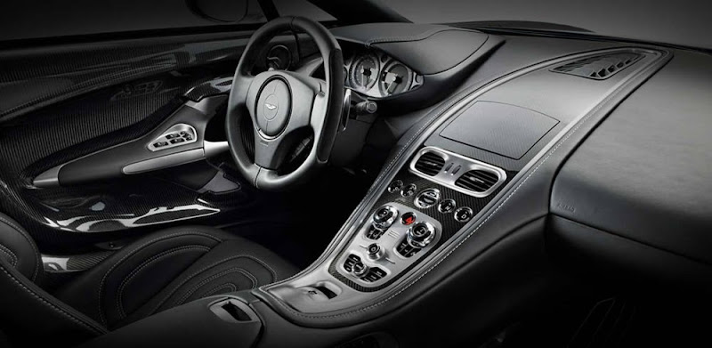 Aston Martin One-77 Interior Design