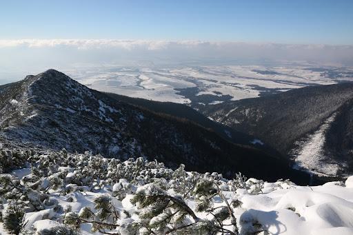 Liptov a Nízke Tatry v oblakoch