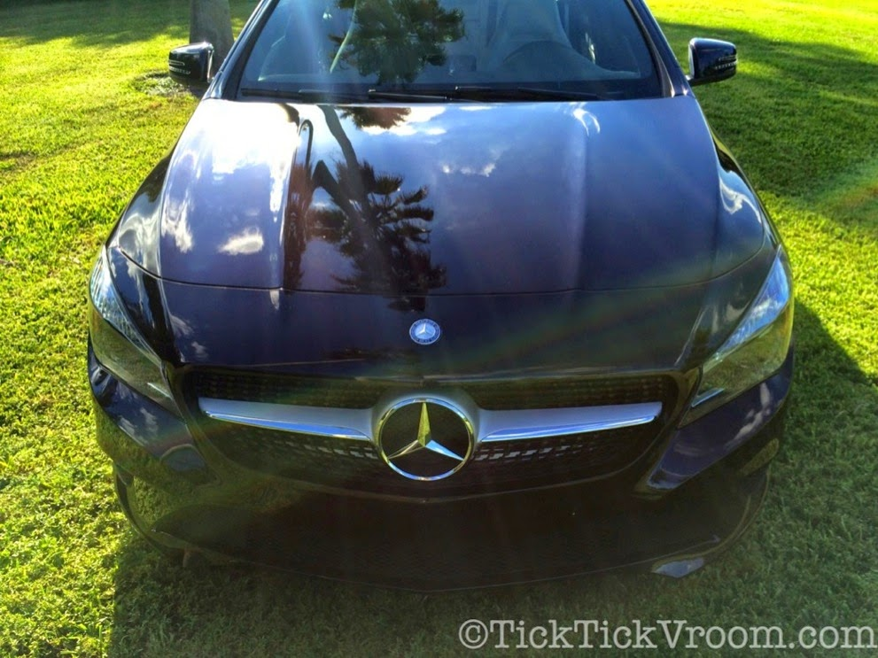 2014 Mercedes-Benz CLA250 Long-Term Test Car - Northern Lights Violet Metellic Long Term Review Road Test 4034 2