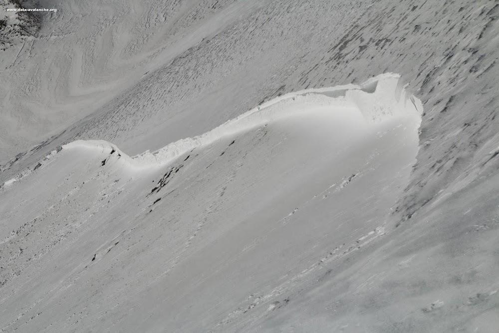 Avalanche Haute Maurienne, secteur Dent Parrachée, Aussois - Les Balmes - Photo 1 - © Duclos Alain