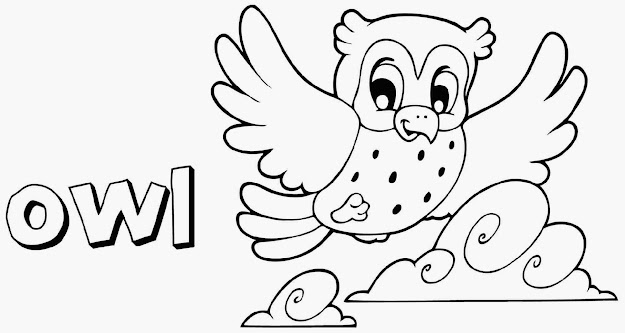 Picture Of Owl To Color Free Download