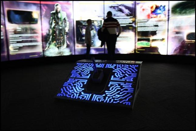 Marvel Avengers S.T.A.T.I.O.N. London Mjolnir Simulator