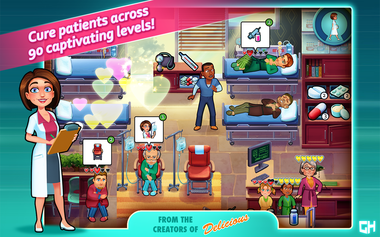 Heart's Medicine Hospital Game- screenshot