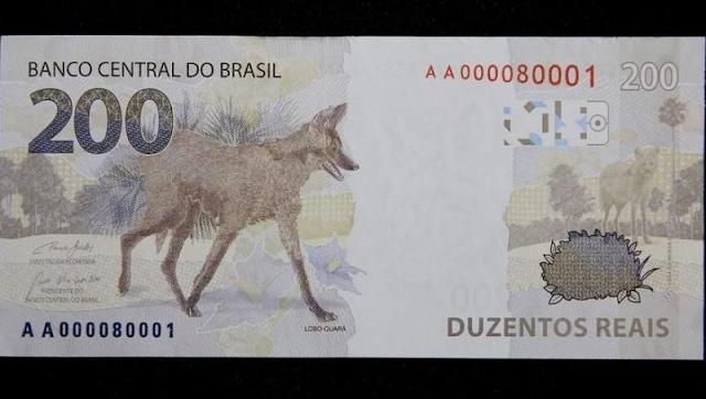 Polêmica: Defensoria Pública pede na Justiça para que BC retire cédulas de R$ 200 de circulação