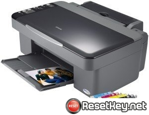 Epson DX4200 Waste Ink Counter Reset Key