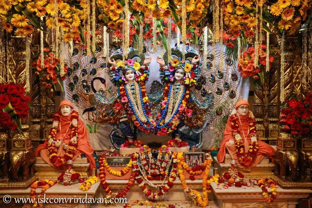 ISKCON Vrindavan Sringar Deity Darshan 25 Jan 2016 (5)