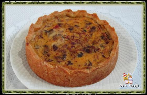 Torta de carne seca com mandioquinha 2