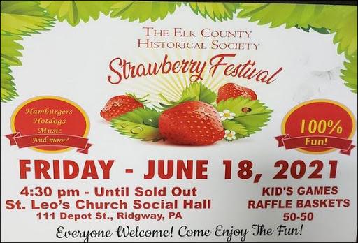 6-18 Strawberry Festival, Ridgway, PA
