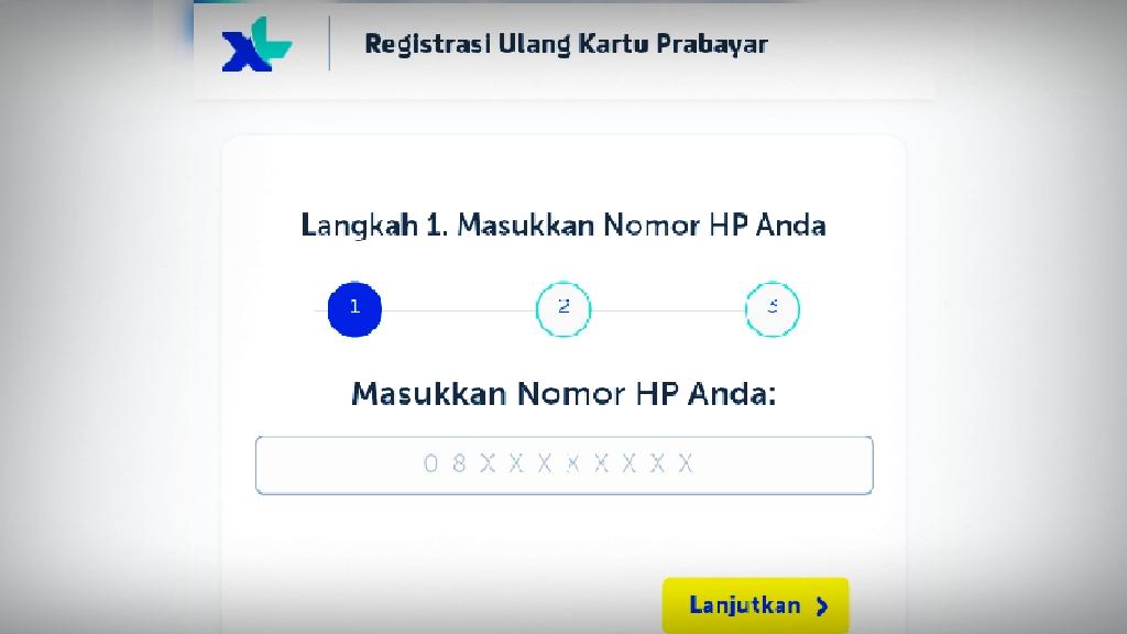 Cara Registrasi Ulang Kartu Prabayar Nomor Ponsel Setelah Gagal Melalui Sms 4444  NOMOR CINDE