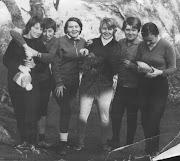 """11.1971г. Куш-Кая. """"Старые женщины"""" альпсекции."""