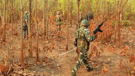 Bijapur Naxal attackमुठभेड़ में 5 जवान शहीद