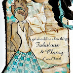 H4- Fabulous & Classy (Cling Mount Set) Image of woman is not included in set September 2013
