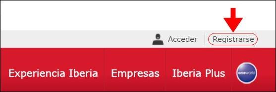 Abrir mi cuenta Iberia - 617