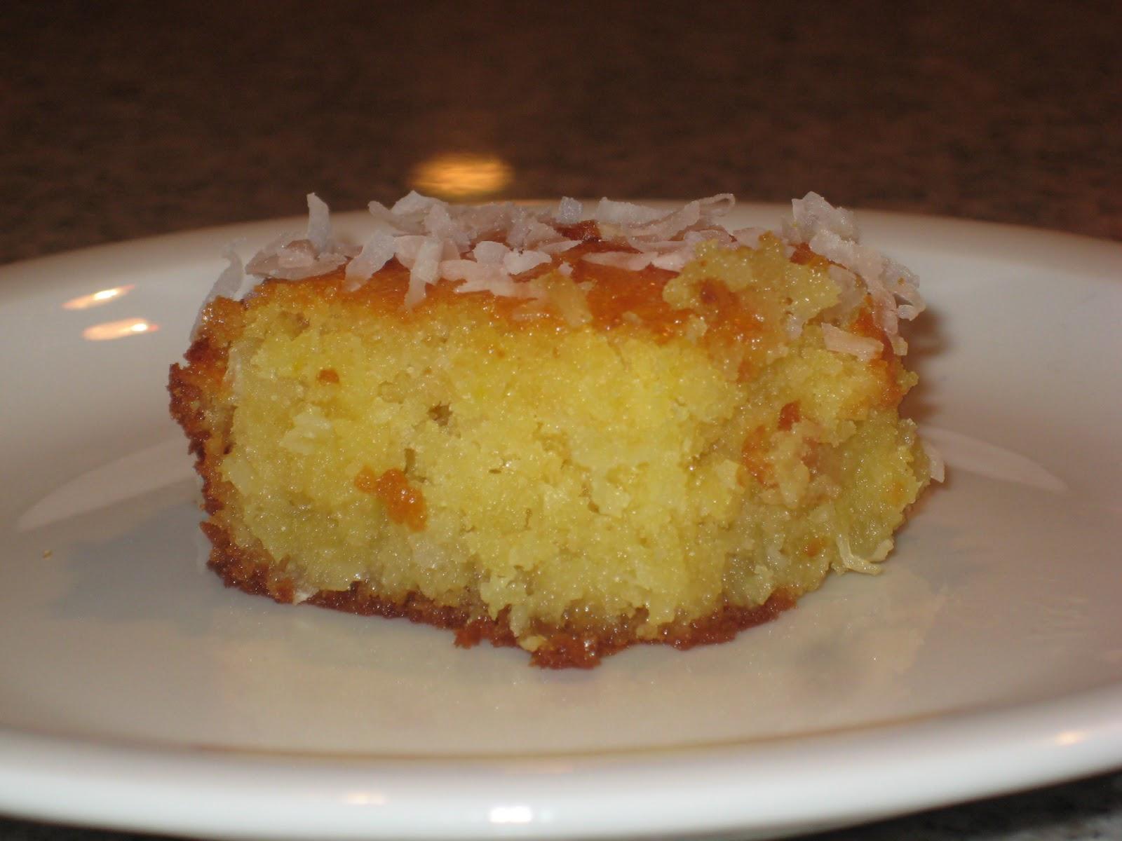 No Coconut Italian Cream Cake