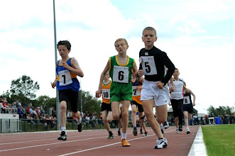 Photo: Jack Fallon in action in the Boys U/12 600m