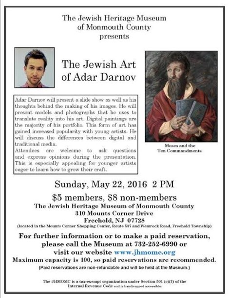 The Jewish Art of Adar Darnov