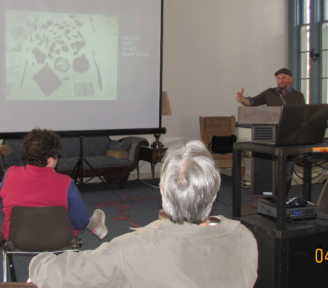 Mark Hoock, Ph.D. candidate gives presentation