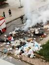 Brucia la spazzatura al rione Marconi.L'emergenza rifiuti e sanitaria continua.