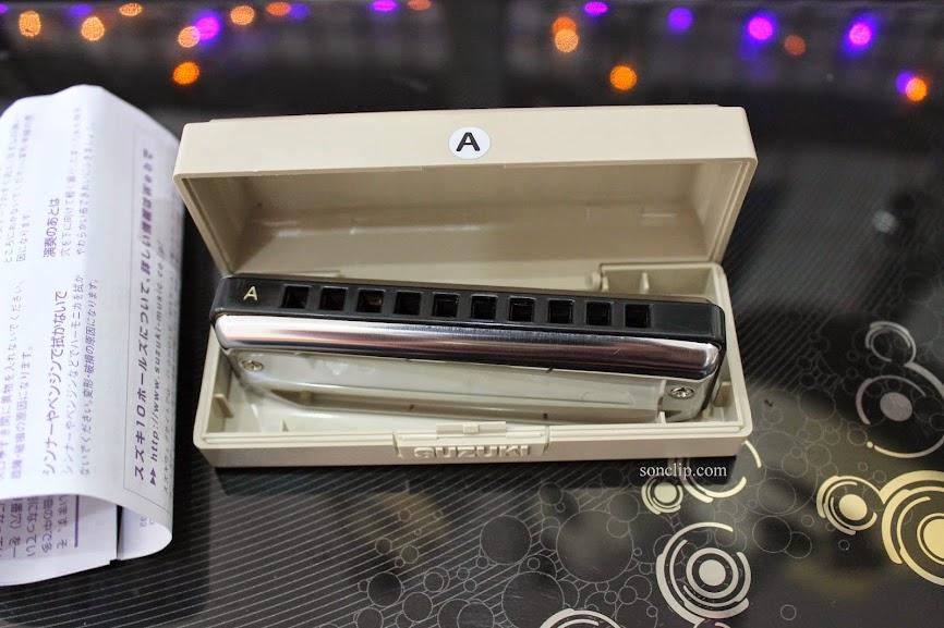 Kèn Harmonica - Suzuki BluesMaster MR-250 (key A)