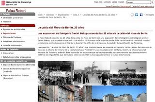 25 aniversario de la caída del Muro de Berlín, exposición fotográfica