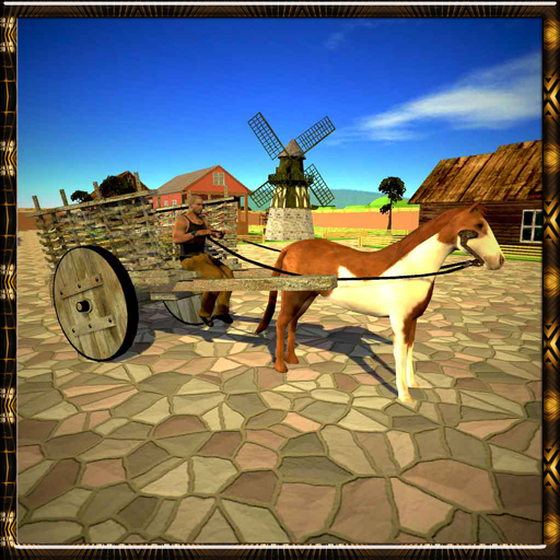 Horse Carriage Transporter 3D
