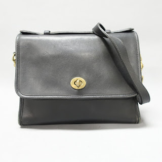 Coach Classic Vintage Black Crossbody Bag