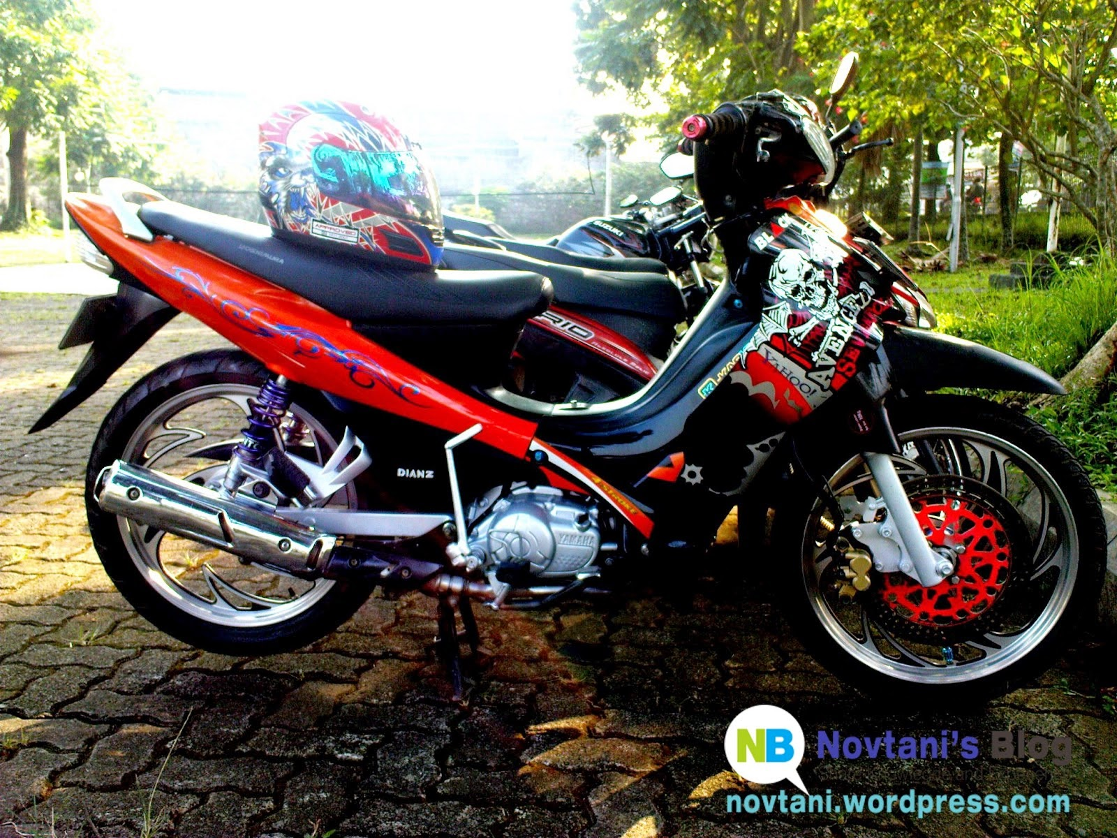 modifikasi motor yamaha jupiter z 1
