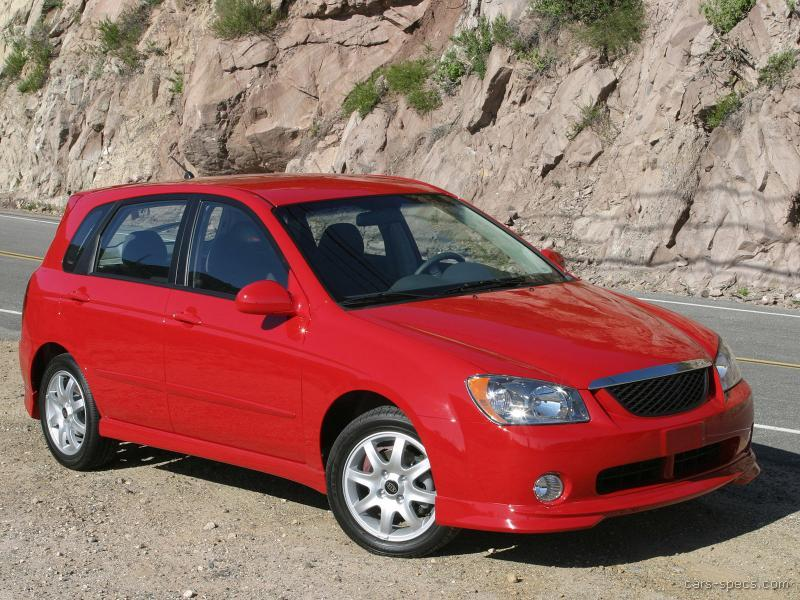 2009 kia spectra wagon specifications pictures prices. Black Bedroom Furniture Sets. Home Design Ideas