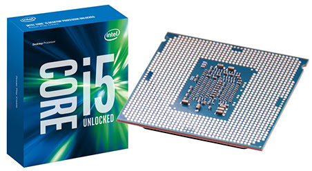 Procesor Intel Core i5 6600K Configuraţie PC Gaming, sub 1000 Euro