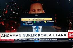 Frekuensi CNN Indonesia Terbaru di Satelit Telkom 3s 118°E