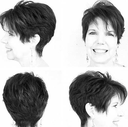 Pixie Hairstyles For Thick Hair Over 50: Pixie haircut after fifty ...