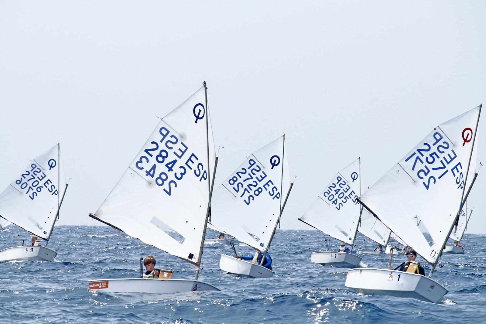 1ª Jornada - Campeonato Optimist A y Femenino