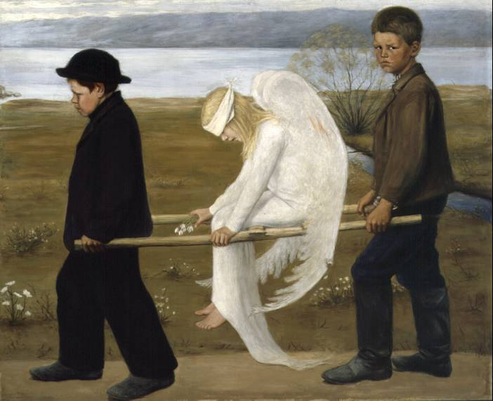 The Wounded Angel Hugo Simberg, Angels 1