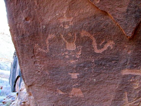 Awesome petroglyph