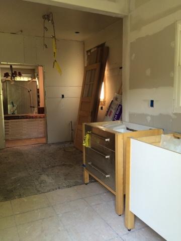 Kitchen update week 4