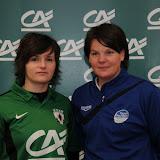 2012-02-15 Marion Couepel avec l'équipe de tous les footballs