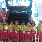 Field Trip to Car Showroom by Playgroup Afternoon Section at Witty World, Chikoowadi (2018-19)
