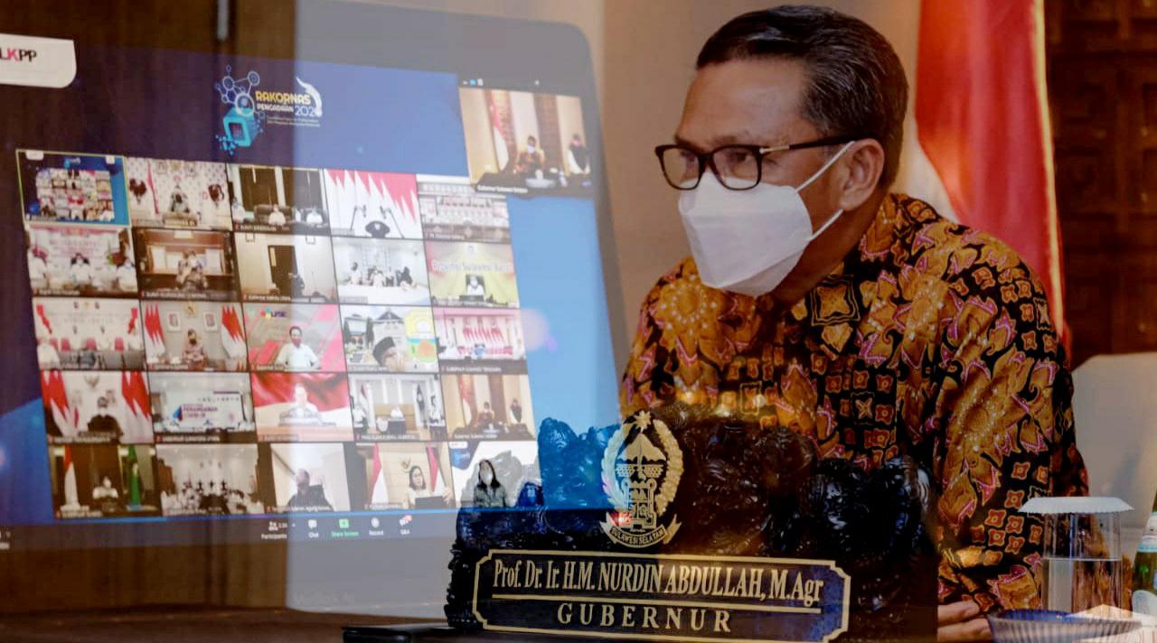 Gubernur NA : Presiden Apresiasi Kerja Keras Kepala Daerah Tangani Covid-19