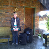 Arriving at Big Five Lodge for IST