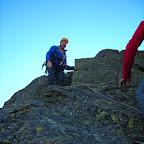 Derek sulla cresta nord della Gastaldi [gnd]