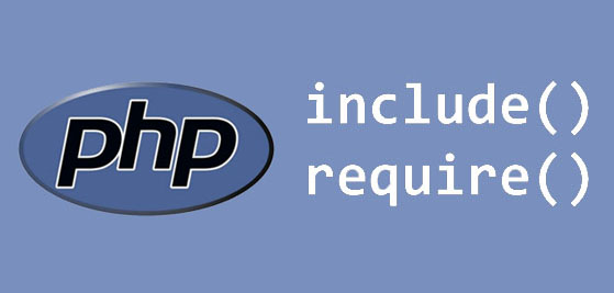PHP include require