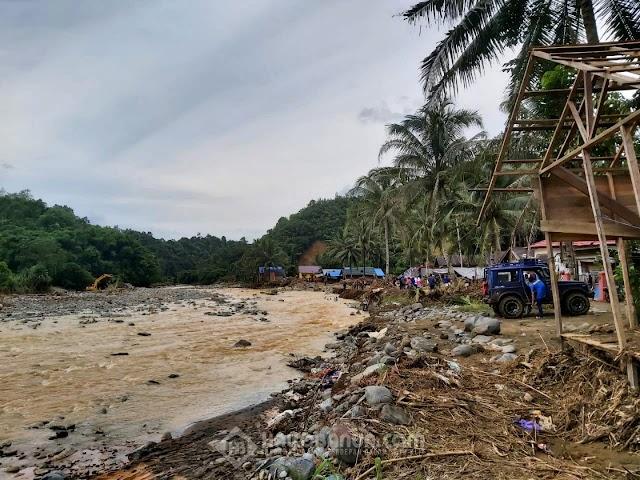 Pemulihan Pasca Banjir, Logistik Terus Disalurkan ke Desa Datar Ajab