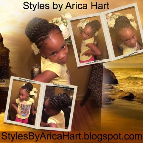 children braid hairstyle