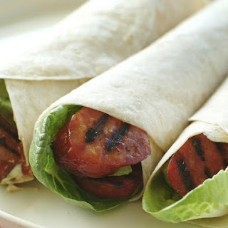 Chorizo and Avocado Wraps