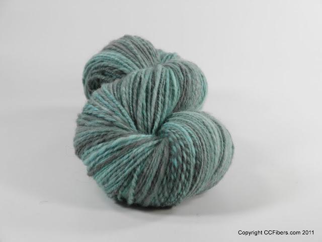 Handspun Yarn, Blue boy, DK