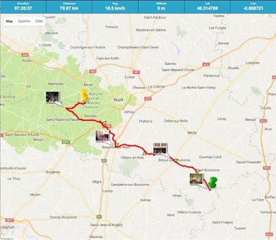 Tour de Rêves Day Two Coulon Marais Poitevin French Village Diaries