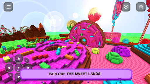 Sugar Girls Craft: Adventure screenshot 1